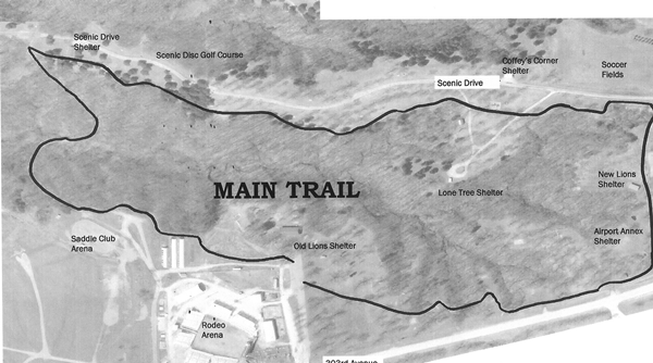 Rodeo Park Trail Map